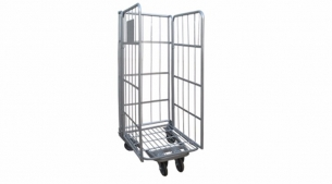 Galvanized European-Style Roll Container RC1004/RC1004S