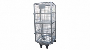 Four Layer European Galvanized Roll Container RC1041